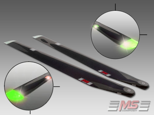 CFC night blades 55 cm/12/3 - 2 Colors